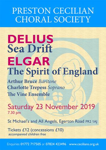 Sea Drift by Delius & The Spirit of England by Elgar