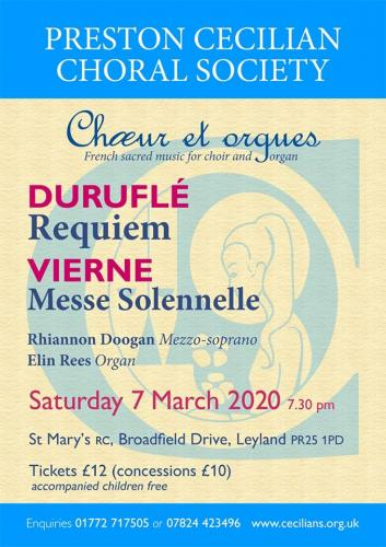 Requiem by Maurice Duruflé & Messe Solennelle by Louis Vierne