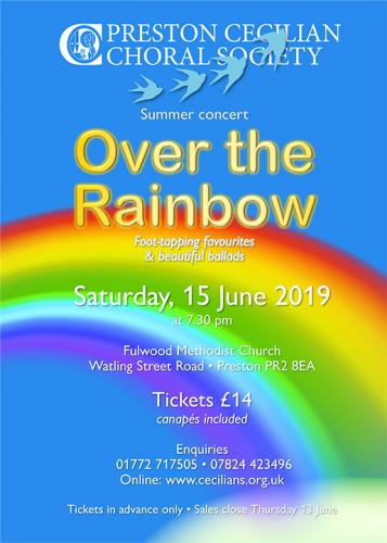 Over The Rainbow - Saturday, 15 June 2019